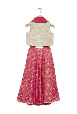 8c831ce1320 Utsa Kids by Westside Pink Ghagra Choli Ethnic Set
