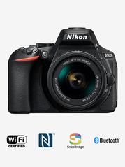 Nikon D5600 DSLR  AF P DX 18 55mm VR Lens  DSLR Camera + 16 GB Card with Lee Cooper Sling Bag  Black  Nikon Electronics TATA CLIQ