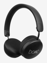 Boat RockerZ 440 Over The Ear Bluetooth Headphone With Mic (Carbon Black)