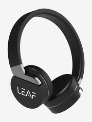 Leaf Force On The Ear Bluetooth Headphone with Mic (Carbon Black)