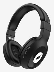 Leaf Bass 2 Over The Ear Bluetooth Headphone With Mic (Black)