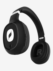 Leaf Bass Over The Ear Bluetooth Headphone With Mic (Black)