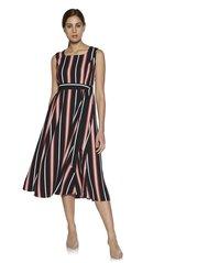3f4466f744 Wardrobe by Westside Multicolour Striped Dress With Belt