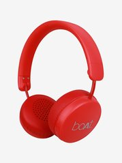 Boat Rockerz 440 Over the Ear Bluetooth Headphone With Mic (Red)