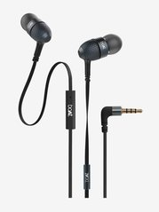Boat BassHeads 228 Wired Earphones with Mic (Black)
