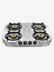 Sunflame Spectra SS 4 Burners Gas Stove (Silver)