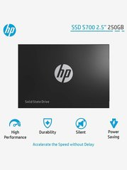 HP S700 2DP98AAABB 250GB SATA 2.5 inch Solid State Drive (SSD) (Black)