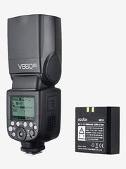 Godox VING V860IIC TTL Li-Ion Flash Kit for Canon Cameras (Black)