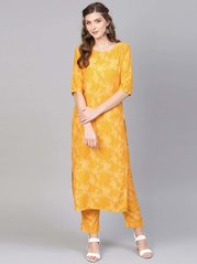 most fashionable cheap clearance sale Buy Gerua Suits - Upto 70% Off Online - TATA CLiQ