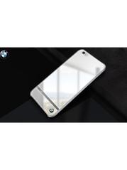 BMW Mirror Signature Shine iPhone 6/6S Back Cover  White