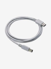 Cables Master 2.5m USB Power Sharing Cable for Printer  White