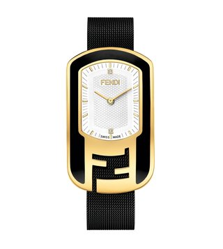 Fendi F341434000D1 White Chameleon Watch For Women