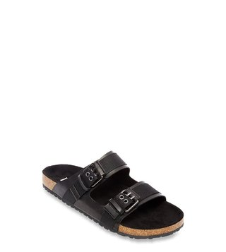 Steve Madden Adam Black Casual Sandals