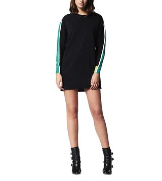 Diesel Black M-Longs Abito Dress
