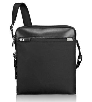 b9b70a798dcb Tumi Black Arrive Business Lucas Crossbody Bag ...