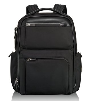 Tumi Black Arrive Business Bradley Backpack