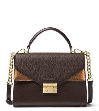 MICHAEL Michael Kors Chocolate Sloan Cross Body Bag ... 341fca871ee