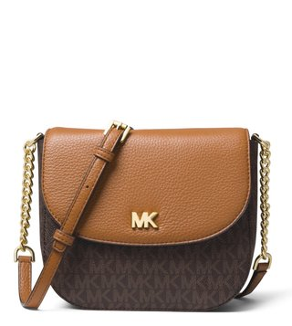 MICHAEL Michael Kors Brown & Acorn Adjustable Cross Body Bag
