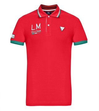 La Martina True Red Life Style Polo T-Shirt