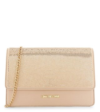 Love Moschino Oro Small Clutch