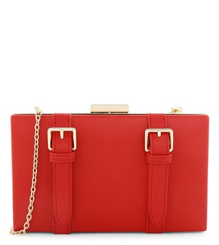 Love Moschino Rosso Small Clutch