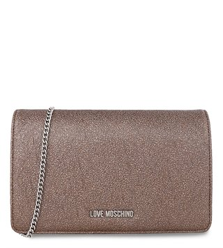 Love Moschino Peltro Evening Medium Clutch