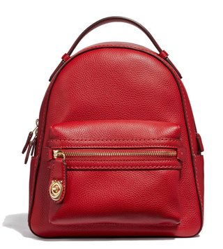 Coach Jasper Polished Pebble Campus 23 Backpack