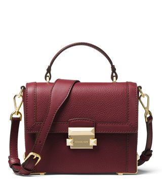 MICHAEL Michael Kors Oxblood Small Cross Body Bag ... 2ca1a8916fca6