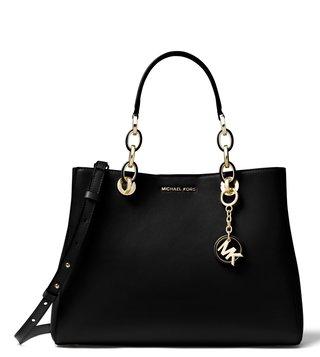 Michael Kors Black Dressy Satchel
