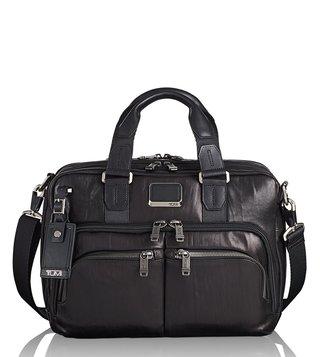 49fe189f63 Tumi Black Albany Slim Alpha Bravo Laptop Briefcase ...
