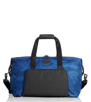Tumi Navy Restoration Alpha 2 Double Expansion Duffel Bag