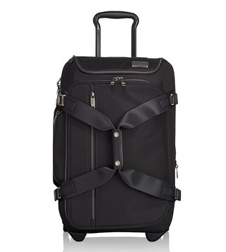 Tumi Black Contrast Merge Wheeled Duffel Carry-On Cabin Bag