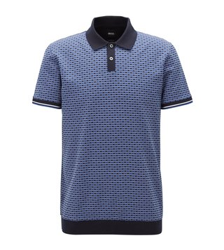 Hugo Boss Open Blue Parlay 24 Polo T-Shirt