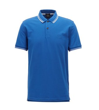 Hugo Boss Open Blue Parlay 16 Polo T-Shirt