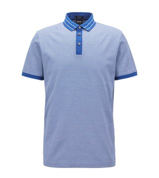 Hugo Boss Open Blue Prout 08 10207780 01 Polo T-Shirt