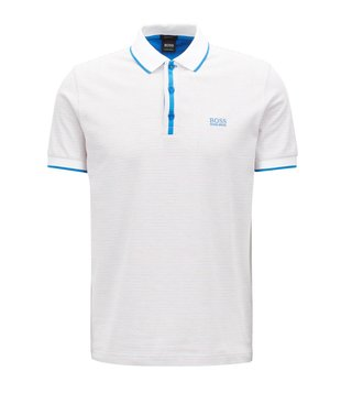 Hugo Boss White Paddy 5 Polo T-Shirt