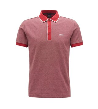 Hugo Boss Dark Red Paddy 5 Polo T-Shirt