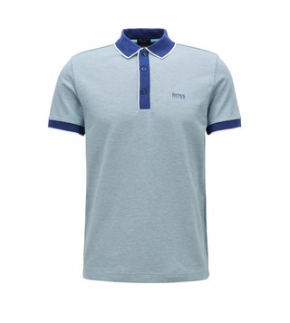 Hugo Boss Dark Blue Paddy 5 Polo T-Shirt