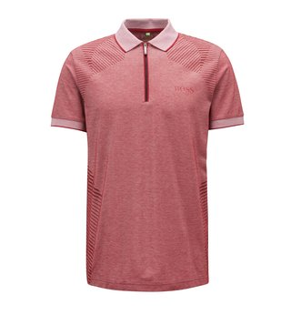 BOSS Dark Red Prek Pro 10208674 01 Polo T-Shirt