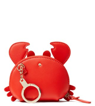 Kate Spade Picnic Red Shore Thing Crab Coin Purse