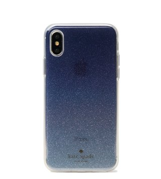 Kate Spade Blue Multi Glitter Ombre Iphone X Case