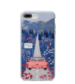 Kate Spade Multicolor Road Scene Iphone 8 Plus Case