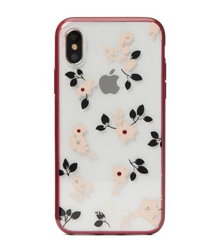 Kate Spade Clear Multi Jeweled Camellia Iphone X Case