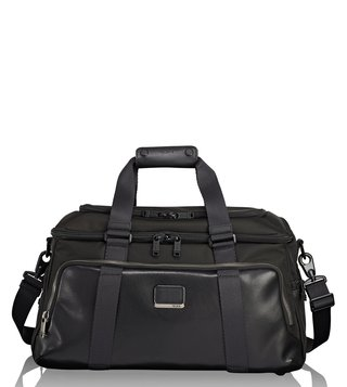 Tumi Black Alpha Bravo Mccoy Gym Duffle Bag