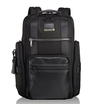 Tumi Black Alpha Bravo Sheppard Deluxe Backpack