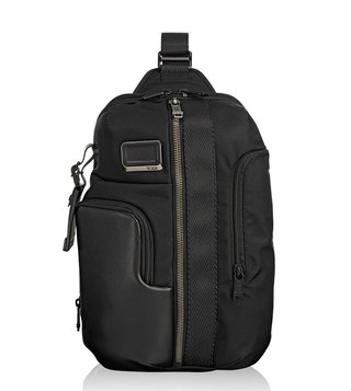 Tumi Black Alpha Bravo Smith Sling Backpack