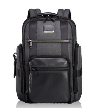 Tumi Anthracite Alpha Bravo Sheppard Deluxe Backpack