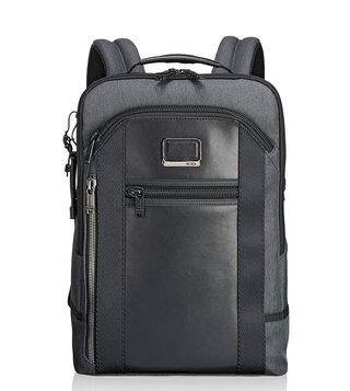 Tumi Anthracite Alpha Bravo Davis Backpack