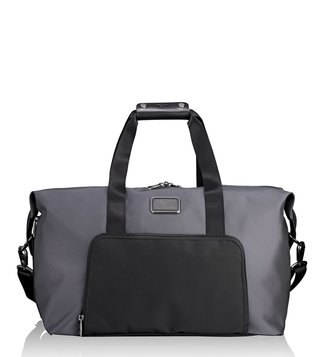 Tumi Pewter Alpha 2 Double Expansion Duffle Bag