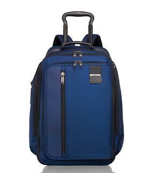 Tumi Ocean Blue Merge Wheeled Backpack